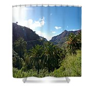 Masca Views Shower Curtain