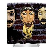 Mascaras 1 Shower Curtain