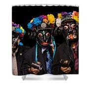 Mascaras Shower Curtain