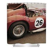 Maserati 450 S Shower Curtain
