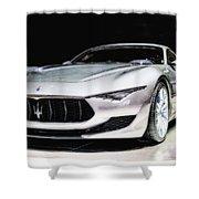 Maserati Alfieri Concept 2014 Shower Curtain