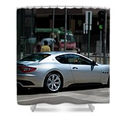 Maserati Granturismo S Shower Curtain