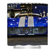 Maserati Racer Shower Curtain