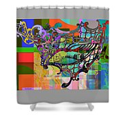 Mask Of Venice Shower Curtain