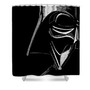 Masked Empire Shower Curtain