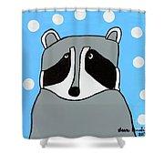 Masked Friend Shower Curtain