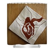 Masks - Tile Shower Curtain