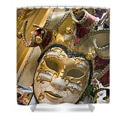 Masks For Sale - Venice, Italy Shower Curtain