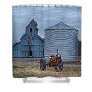 Mason City Nebraska  Shower Curtain