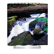 Mason Creek  Shower Curtain