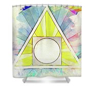 Masonic Symbolism - Alchemy Shower Curtain