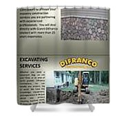 Masonry Contractor Services Shower Curtain