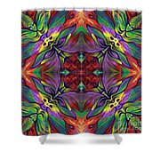 Masqparade Tapestry 7d Shower Curtain