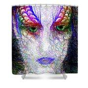 Masquerade 9571 Shower Curtain