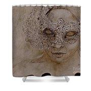 Masquerade Shower Curtain
