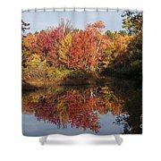 Massachusetts Color Shower Curtain