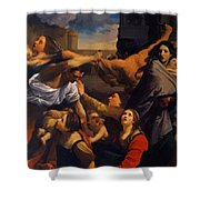 Massacre Of The Innocents 1611 Shower Curtain