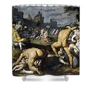 Massacre Of The Innocents Shower Curtain