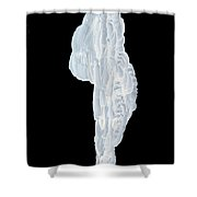 Massive Icicle Shower Curtain