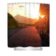 Massive Sunrice Shower Curtain