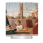 Master Of Astorga Shower Curtain
