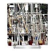 Masts 2354 Shower Curtain