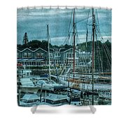 Masts Hysteria Shower Curtain
