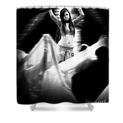 Mata Hari Shower Curtain