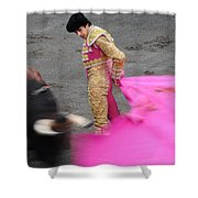 Matador Sebastian Castella Shower Curtain