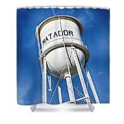 Matador Water Tower Shower Curtain