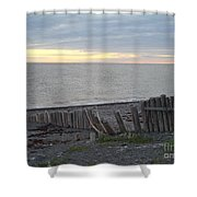 Matane In The Morning... Shower Curtain