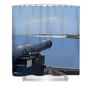 Matanzas Inlet Shower Curtain