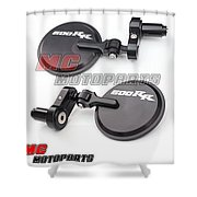 Matchless Billet Bar End Mirrors For Sale- Mc-motoparts  Shower Curtain