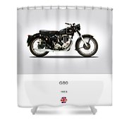 Matchless G80 1953 Shower Curtain