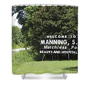 Matchless Manning Shower Curtain