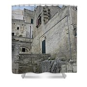 Matera Houses Shower Curtain