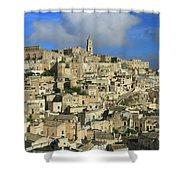 Matera Italy Shower Curtain
