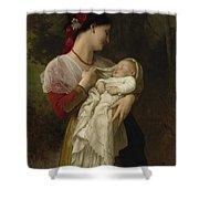 Maternal Administration Shower Curtain