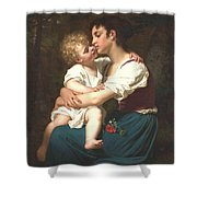 Maternal Love Shower Curtain