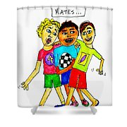 Mates Shower Curtain
