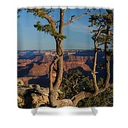 Mather Point South Rim Grand Canyon Shower Curtain