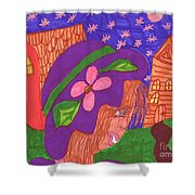Matildas World Shower Curtain