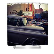 Matinees And Trucks Shower Curtain