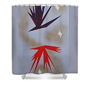 Mating Ritual Shower Curtain