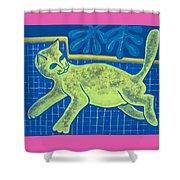 Matisse's Cat In Reverse Shower Curtain