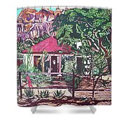 Matopo Rock Lodge Shower Curtain