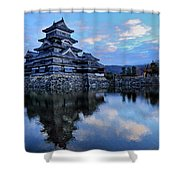 Matsumoto Castle 1182 Shower Curtain