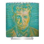 Matt Damon Shower Curtain