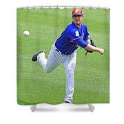 Matt Harvey New York Mets Shower Curtain