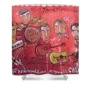 Matt Nasi Band Shower Curtain